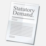 statutory demand image